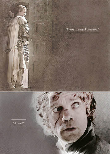 House Lannister fond d'écran with a sign entitled Jaime & Tyrion