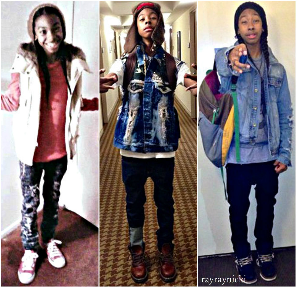 Mindless Behavior January 2013 Ray pix