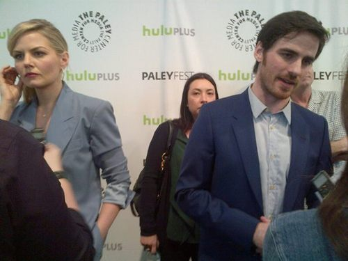 Jennifer and Colin at Paleyfest