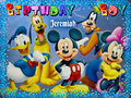Jeremiah Josh - B'day - walt-disney-characters fan art