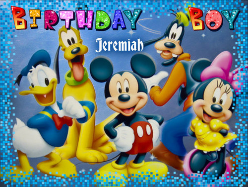 Jeremiah Josh - B'day