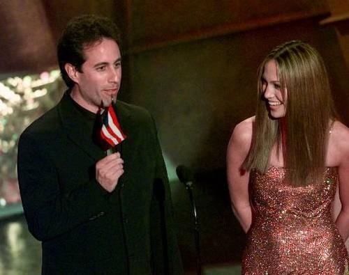 Jerry Seinfeld, Jennifer Lopez 1999