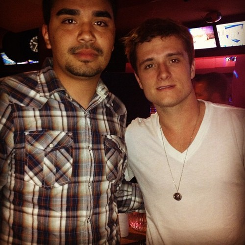 Josh with a friend