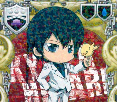 chibi wallpaper possibly with Anime called KATEKYO HITMAN REBORN