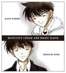 Kaito and Shinichi !!