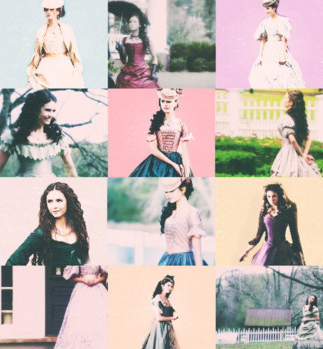 Katherine Pierce + Dresses