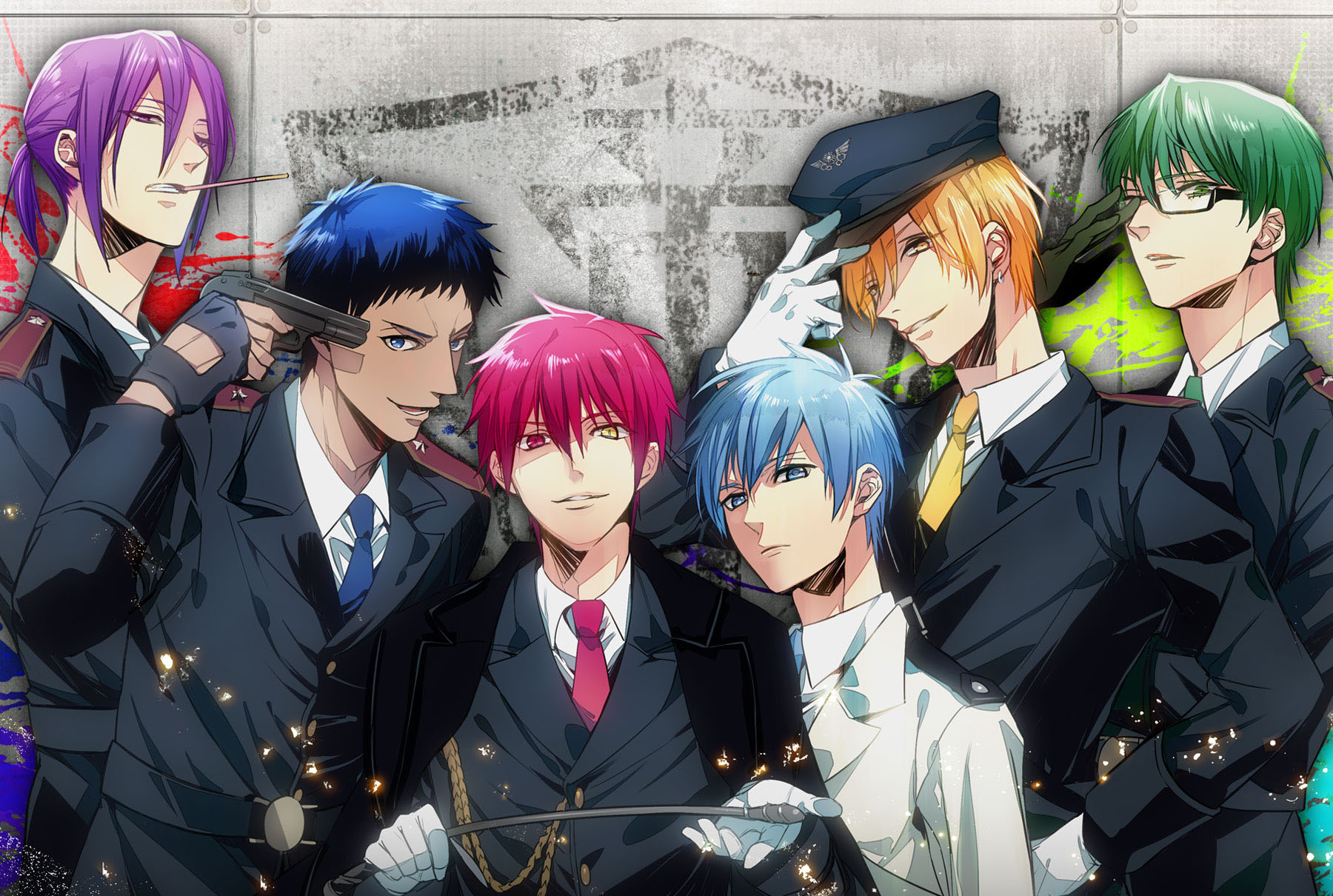 generation of miracles aomine - photo #35