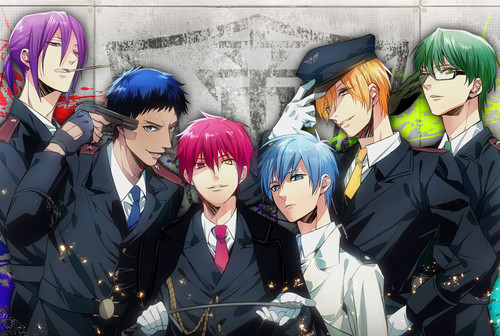 Generation of miracles kuroko no basuke images kiseki no sedai hd generation of miracles kuroko no basuke wallpaper with a business suit titled kiseki no voltagebd Images