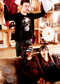 Kurt, Rachel & Santana