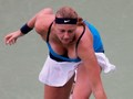 Kvitova breast Montreal  - tennis photo