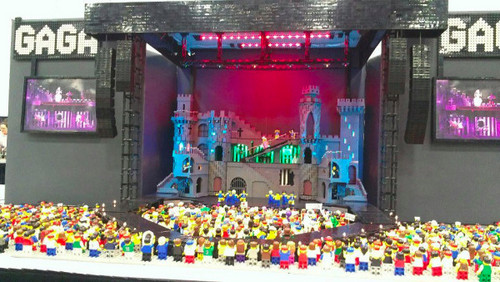 LEGO recreation of the Born This Way Ball