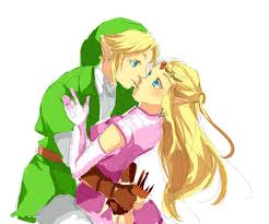 Link and Zelda Kiss