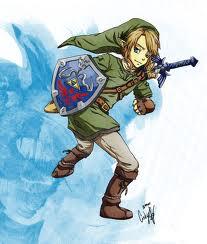The Legend of Zelda wallpaper containing anime entitled Link