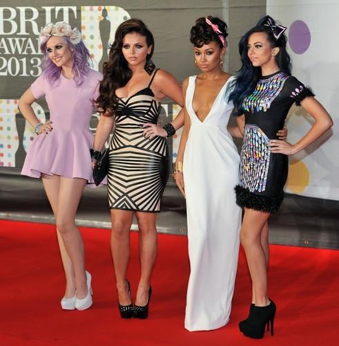 Little Mix @ 2013 Brit Awards