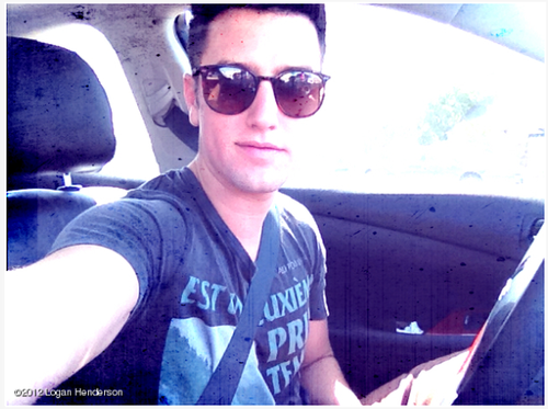 Logan Henderson wallpaper containing sunglasses entitled Logan