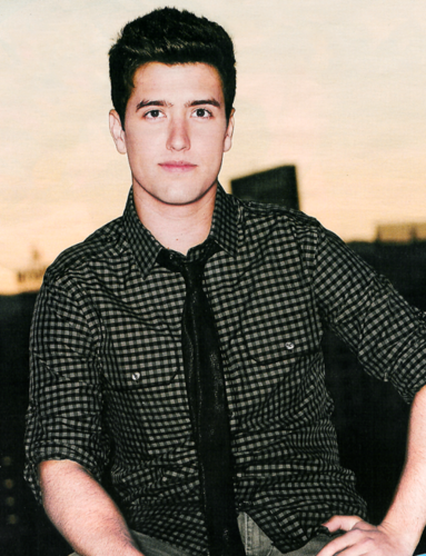 Logan Henderson wolpeyper probably with an outerwear entitled Logan