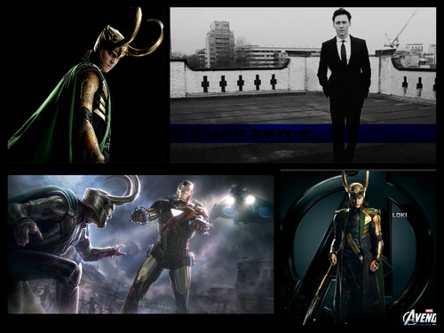 Loki/Tom Collage
