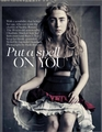 Magazine scans: Vogue UK (April 2013)