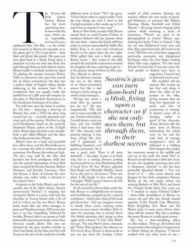 Magazine scans: Vogue UK (April 2013)
