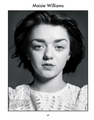 Maisie Williams for The Gentlewoman - game-of-thrones photo