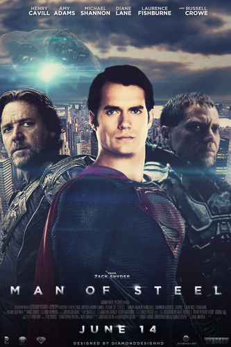Man of Steel wallpaper probably with a sign entitled Man of Steel (Fan Made) Poster