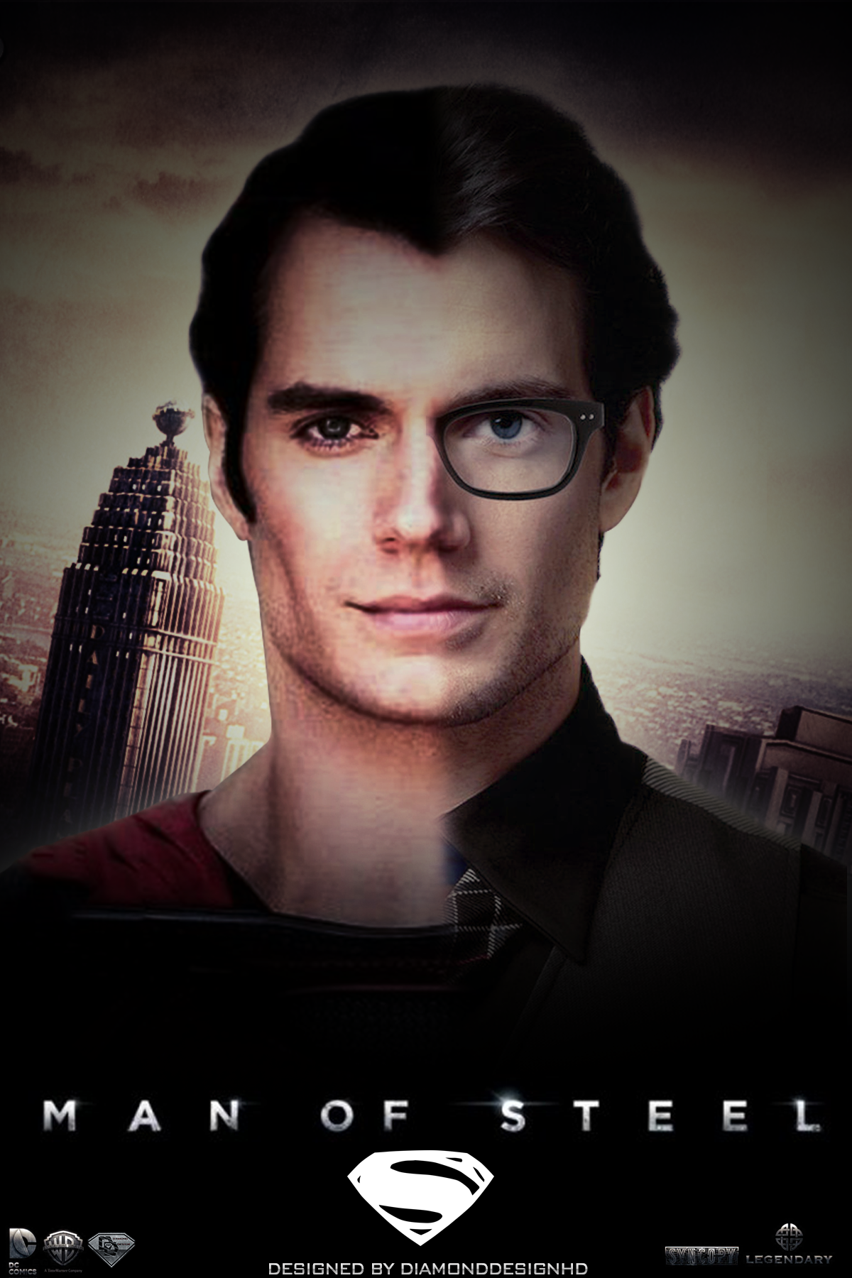 Man of Steel Man of Steel (Fan Made) Poster