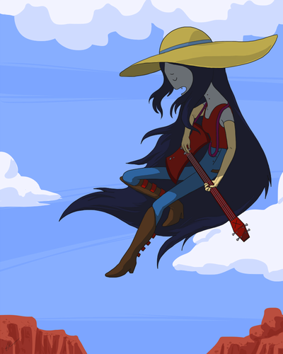 Marceline wallpaper probably containing anime entitled Marceline
