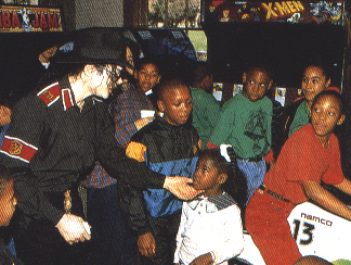 Martin Luther King 일 At Neverland Back In 1994