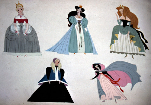 Mary Blair- Sinderella Concept Art
