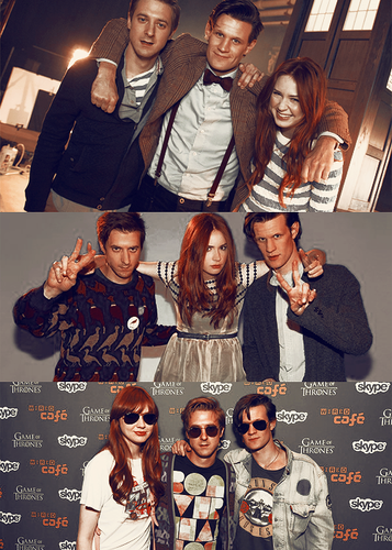 Matt, Karen and Arthur