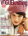 Mckey Sullivan on the cover of VogueKnitting - antm-winners photo