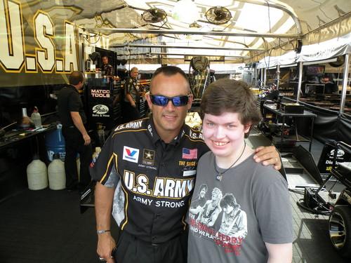 Me and Tony Schumacher