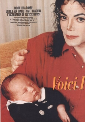 Michael And Baby Prince Back In 1997