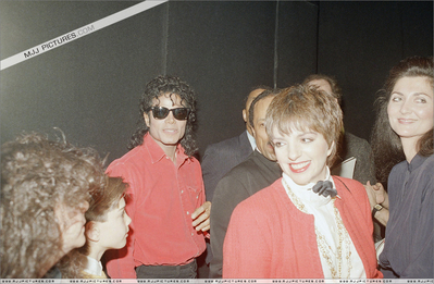 "Michael And Liza Attending The Play, ""Phantom Of The Opera"" Back In 1988"