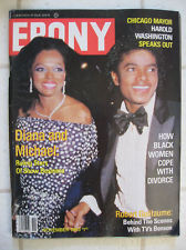 "Michael Jackson And Diana Ross On The Cover of 1981 Issue, OF ""Ebony"" Magazine"