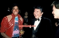 Michael With Rex Smith And Liberace - michael-jackson photo
