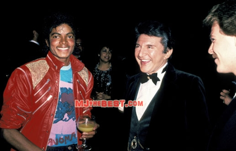 Michael With Rex Smith And Liberace