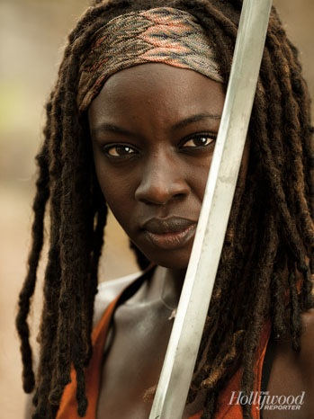 The Walking Dead پیپر وال entitled Michonne