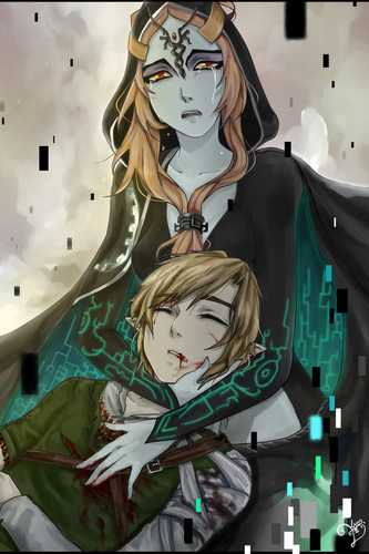 The Legend of Zelda wallpaper called Midna and Link