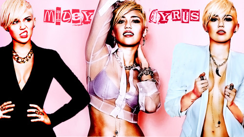 Miley Cyrus Cosmopolitan Promoshoot Wallpaper by DaVe!!!