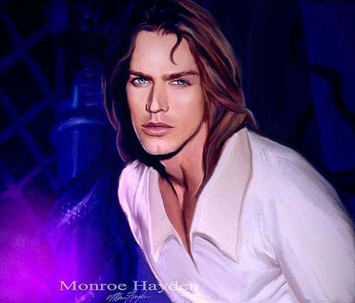 Beauty and the Beast wallpaper containing a portrait called Monroe Hayden's Beast Prince
