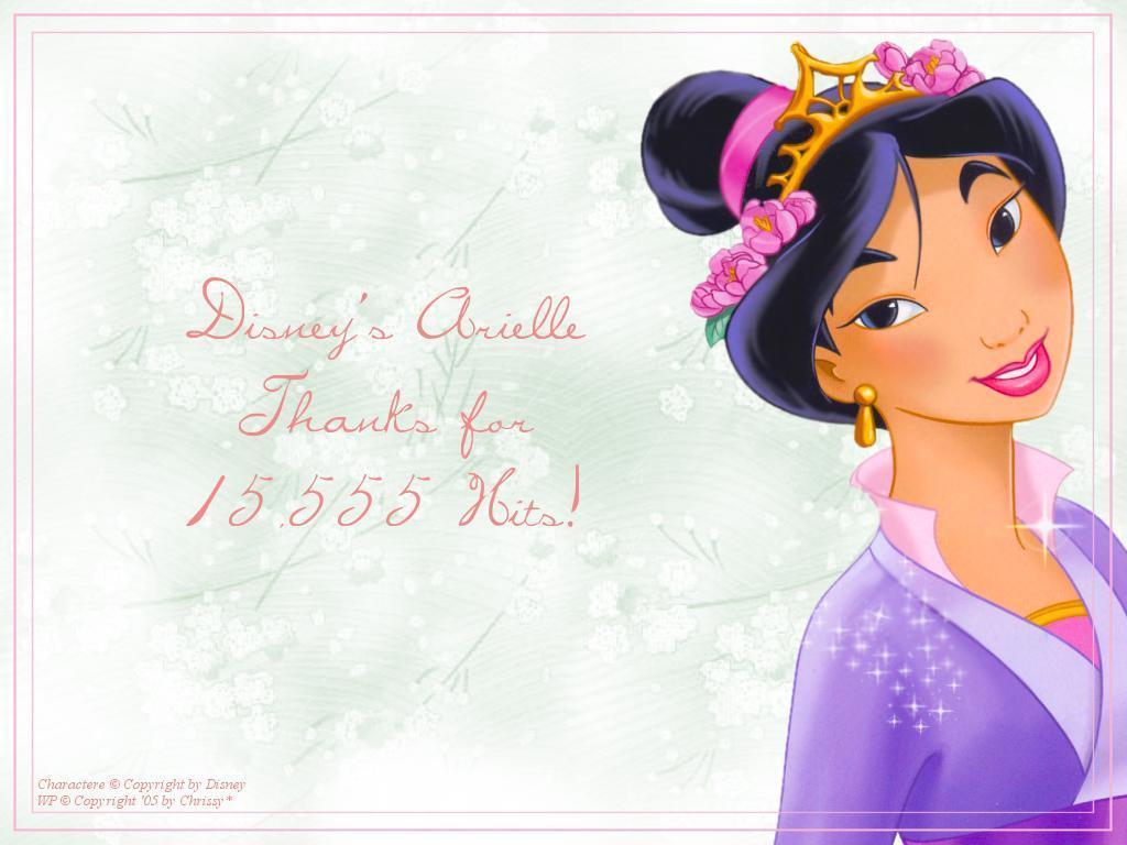 迪士尼 princess 花木兰