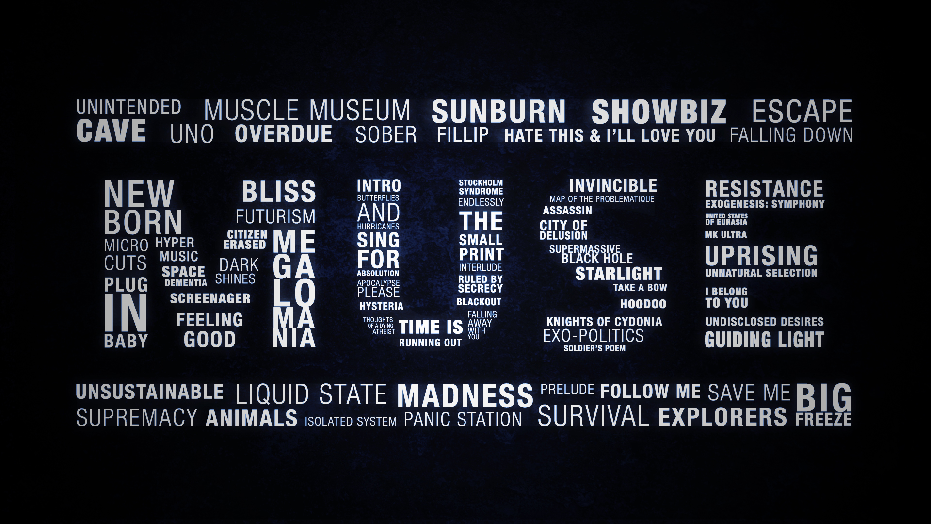 Muse muse wallpaper