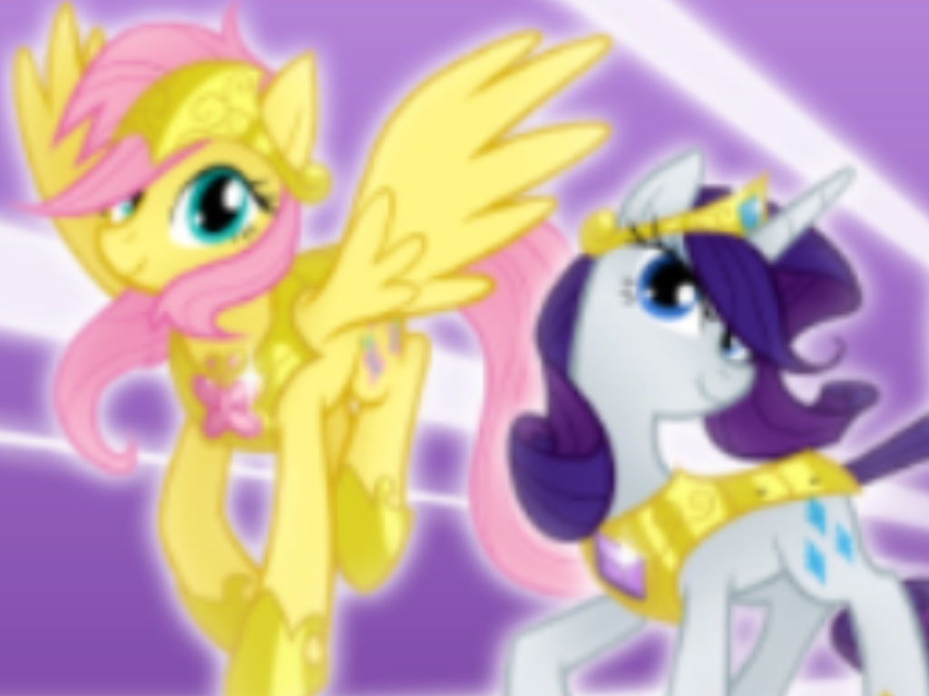 My little ponies armored