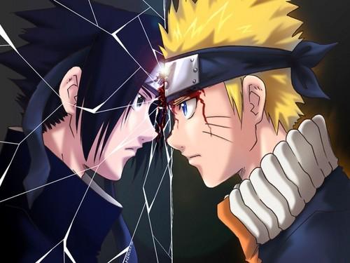 Naruto karatasi la kupamba ukuta called Naruto