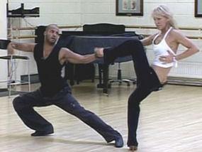 Natalie & Ricky in Training