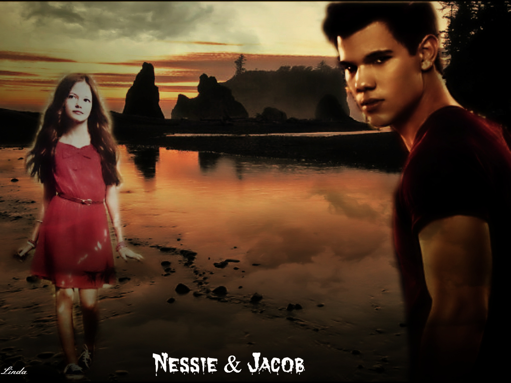 jacob and nessie - photo #12