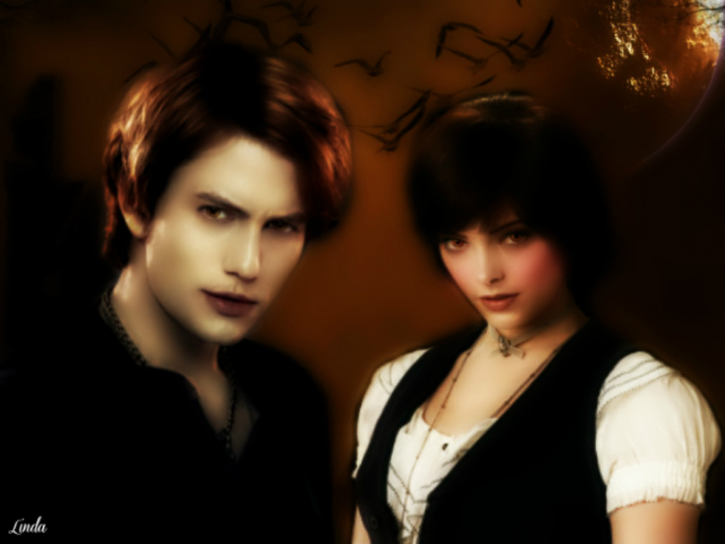 Twilight Love couple Wallpaper : Night of the harvest Moon - Twilight couples Wallpaper (33871739) - Fanpop