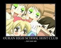 OHSHC Motivational Posters - ouran-high-school-host-club fan art