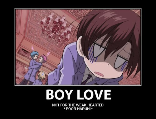 ouran high school host club wallpaper with anime titled OHSHC Motivational Posters